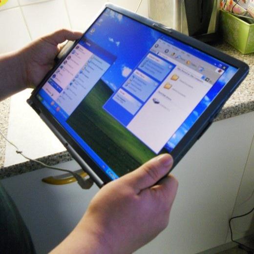 Как сделать свой планшет из ноутбука